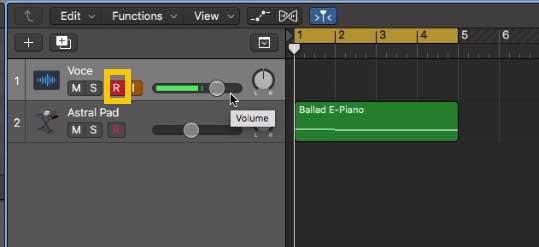 abilitare recording