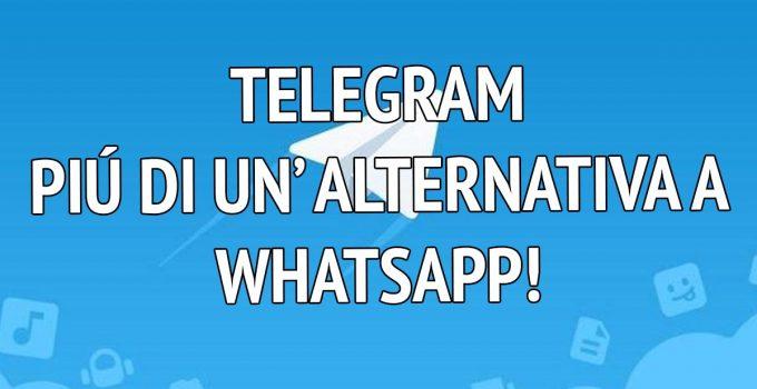 Alternativa WhatsApp : Telegram